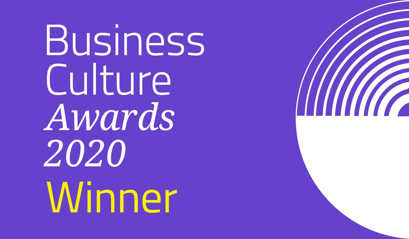 Business Culture Awards Winner 2020