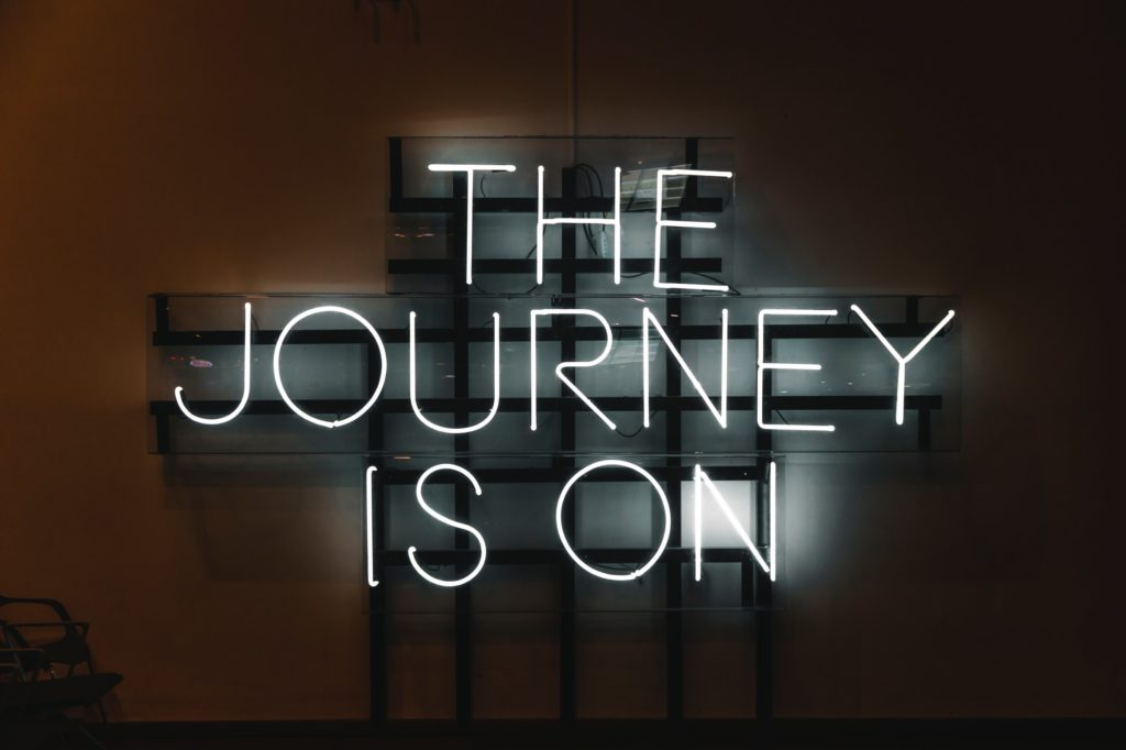 The Journey Is On